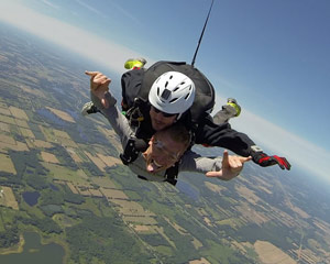 Skydive Owosso, Lansing - 10,000ft Jump