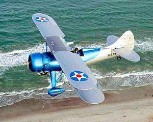 Biplane Flight Cocoa Beach - 12 Minute Flight