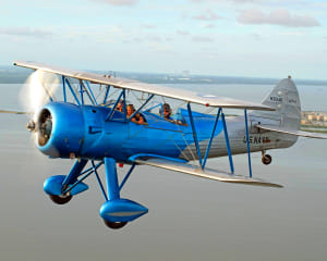 Biplane Aerobatic Flight Cocoa Beach - 17 Minute Flight