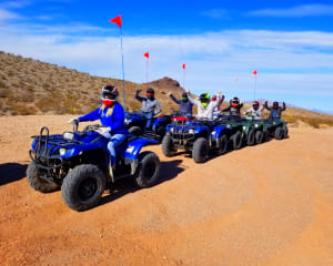 ATV Tour Lake Mead National Park, Las Vegas - 3 Hours (Round Trip Shuttle From Hotel Included)