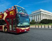 Open-top Bus Tour Washington DC - Day Pass
