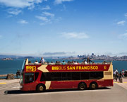 Open-top Bus Tour San Francisco - Day Pass