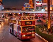 Open-Top Bus Tour Las Vegas - Night Tour