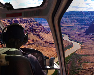 Grand Canyon West Rim Helicopter Tour, Sunset - 70 Minutes (FREE ROUND TRIP SHUTTLE FROM HOTEL!)