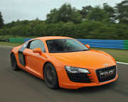 Audi R8 5 Lap Drive - Houston Grandsport Speedway