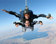 Skydive Las Vegas with Pro Video and Photo Package Included, Boulder City - 15,000ft Jump (FREE ROUND TRIP SHUTTLE INCLUDED!)
