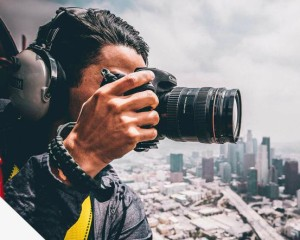 Los Angeles Aerial Photography Downtown Adventure Helicopter Tour - 35 Minutes (Doors Off Photo Shoot!)
