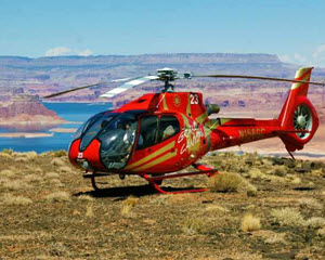 Helicopter Tour Lake Powell At Glen Canyon With Tower Butte Landing - 40 Minutes