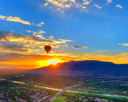 Hot Air Balloon Ride Colorado Springs, Sunrise - 1 Hour Flight