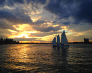 Boston Harbor Twilight Sail, City Lights - 2 Hours