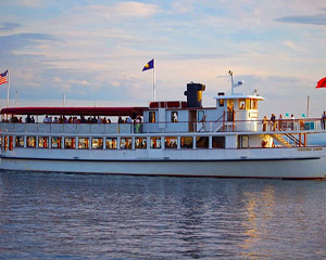 Boston Harbor Night Cruise, City Lights - 1 Hour