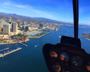 Helicopter Ride Oceanside - 8 Minute Flight (3rd Passenger Rides for Free!)