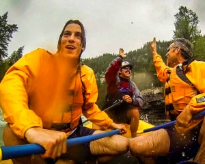 Whitewater Rafting Jackson Hole, Snake River - 3 Hour Small Boats