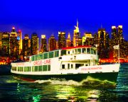 New York City Cruise, Pier 83 Midtown Harbor Lights Night Cruise - 2 Hours