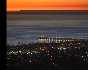 Helicopter Ride Oceanside - 30 Minute Night Flight (3rd Passenger Rides for Free!)