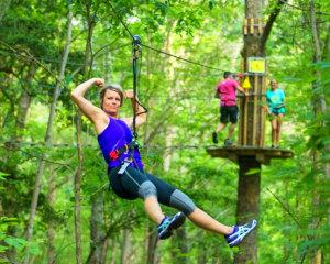 Zipline Treetop Adventure Delaware, Bear - 2 Hours 30 Minutes