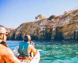 Tandem Kayak Tour La Jolla, 7 Sea Caves, Ecological Reserve and More - 90 Minutes