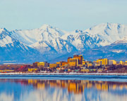 Helicopter Ride Anchorage City Tour - 15 Minutes (Anchorage Hotel Transfer Included!)