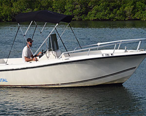Private Key West Fishing Boat Rental - Half Day (Up to 6 Passengers)