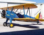 Biplane Adventure Flight St. Petersburg and Tampa - 20 Minute Flight