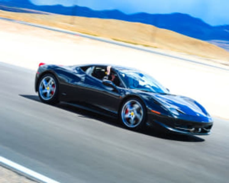 Ferrari 488 5 Lap Drive (Includes Hotel Shuttle Pick up) - Las Vegas