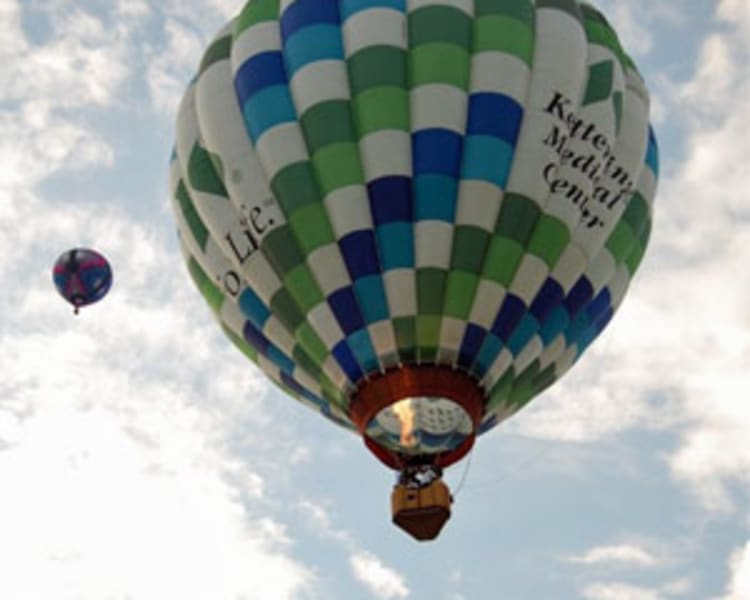 Private Hot Air Balloon Ride Cincinnati, Weekend - 1 Hour Flight