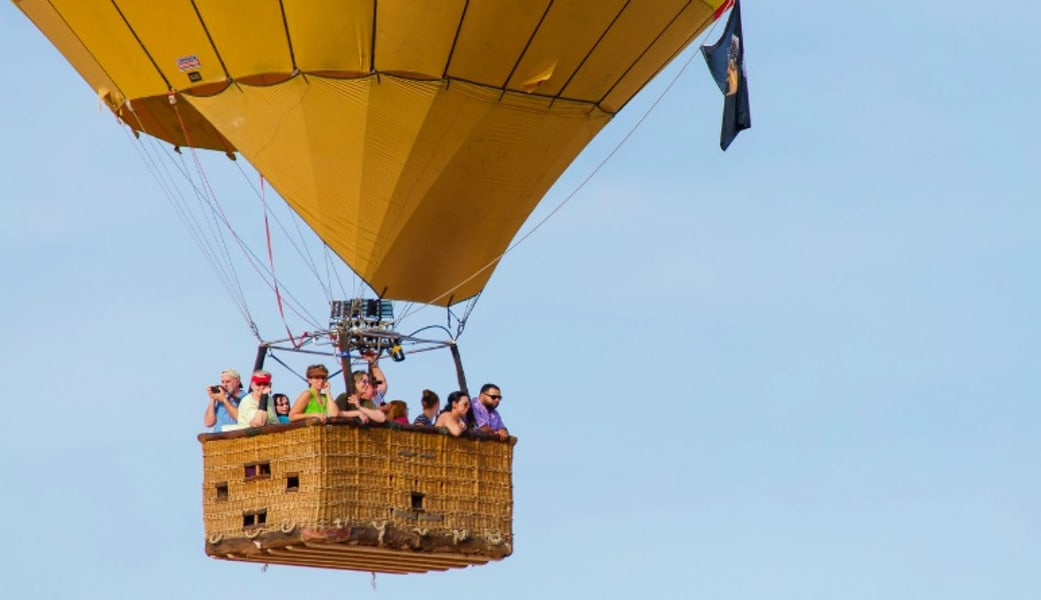 Hot Air Balloon Ride Las Vegas - 1 Hour Flight (Includes Hotel Shuttle, Wine Tasting and More!)