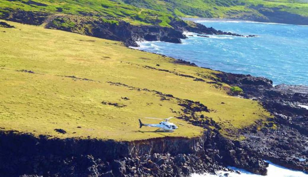 Helicopter Tour Maui, West Maui and Molokai with Oceanfront Landing - 1 Hour 15 Minutes