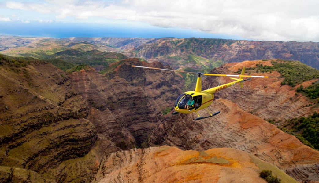 Private Helicopter Tour Kauai, Island Adventure - 1 Hour (Doors Off Optional!)