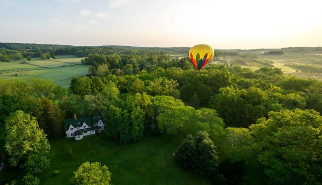 Hot Air Balloon Ride Philadelphia, Chester County - 1 Hour Flight