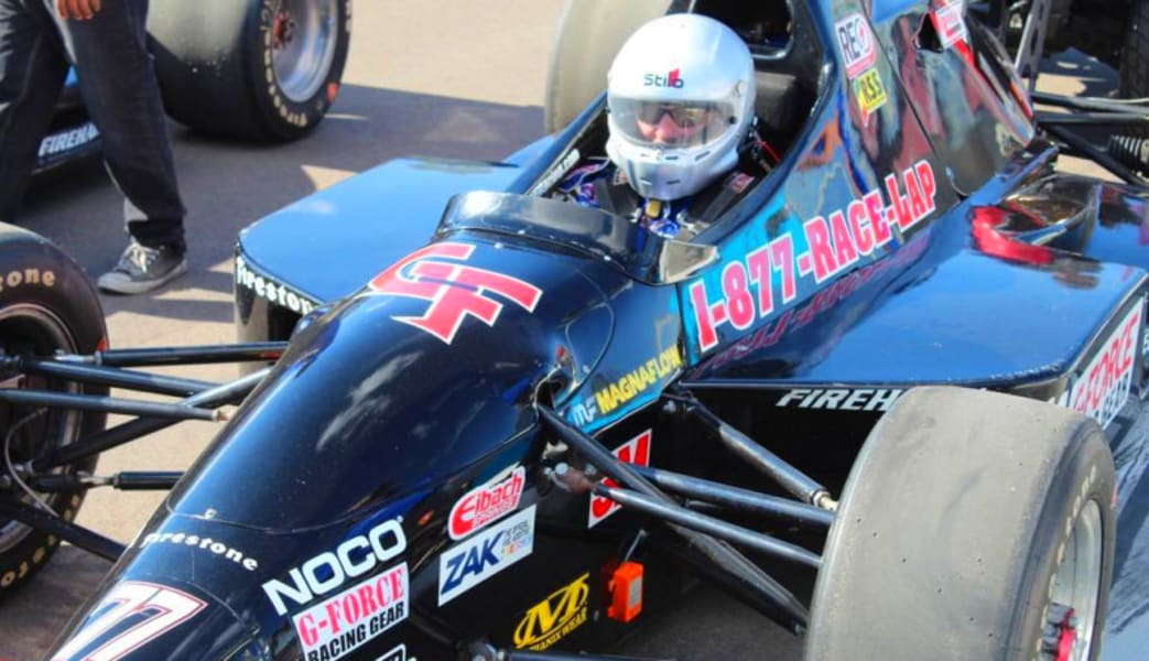INDY-STYLE CAR Drive, 5 Minute Time Trial - Michigan International Speedway