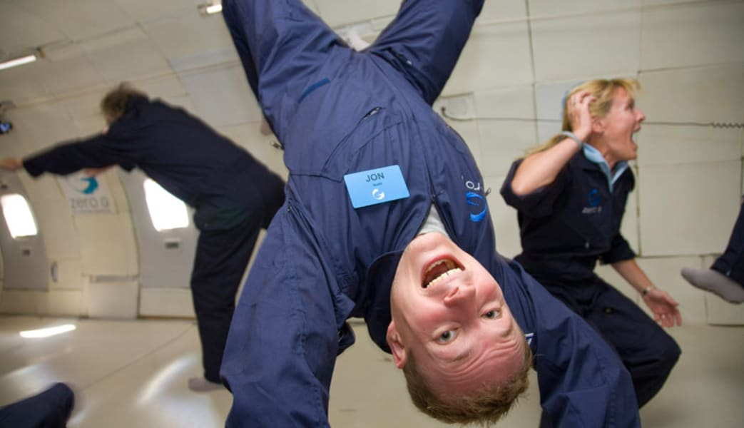 ZERO-G Reduced-Gravity Flight - Las Vegas