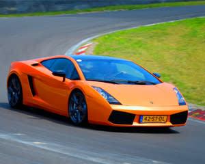 Lamborghini Gallardo LP560-4, 3 Lap Drive Autobahn Country Club - Chicago