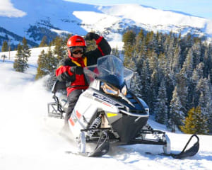 Zip Line and Snowmobile Mountain Tour, Denver - 5 Hours
