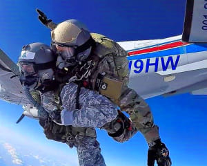 High Altitude Low Opening Skydive, 30,000ft - Memphis