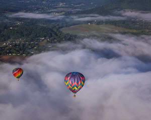 Hot Air Balloon Ride Asheville - 1 Hour Flight