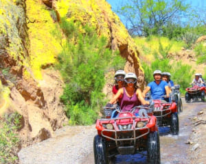 Guided ATV Tours, Sedona Canyon Arizona, Single Rider, 3 Hours