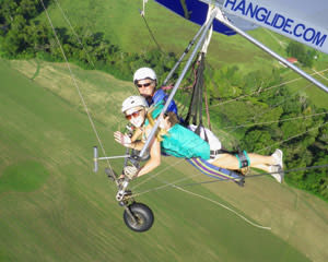 Hang Gliding Chattanooga - 1,500ft Flight