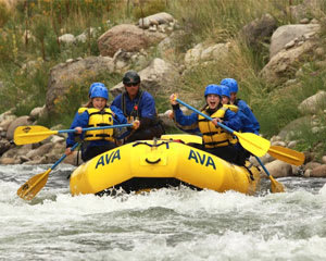 Whitewater Rafting and Zipline Trip Denver, Clear Creek - The Gold Rush - Half Day