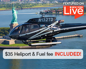 Helicopter Tour Ride New York City - 15 Minutes