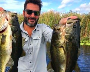 Fishing Tour Boca Raton, Lake Ida - 6 Hours