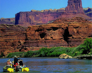 Colorado River Scenic Boat Cruise Moab, 5 Hours