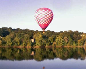 Hot Air Balloon Boston, 1 Hour Ride