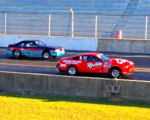 Mustang Drag Racing, Ride and Drive - Piedmont Dragway