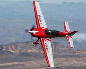Aerobatic Flight Las Vegas, Extra 330 - 15 Minutes