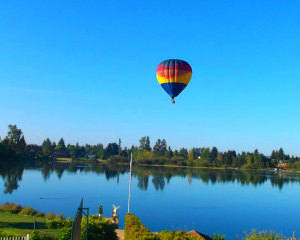Hot Air Balloon Ride Seattle - 1 Hour Morning Flight