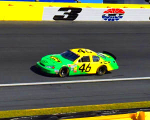 Stock Car Drive, 10 Lap Time Trial - Charlotte Motor Speedway