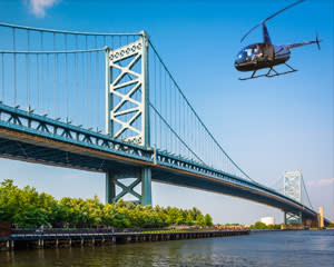 Private Helicopter Tour Philadelphia - 30 Minutes