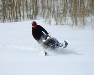 Snowmobile Tour for 2 on Private Trails, Park City - 2 Hours