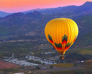 Hot Air Balloon Ride Napa Valley - 1 Hour Flight